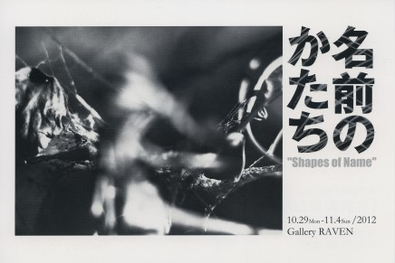 "Solo Exhibition ""Shapes of Name"""